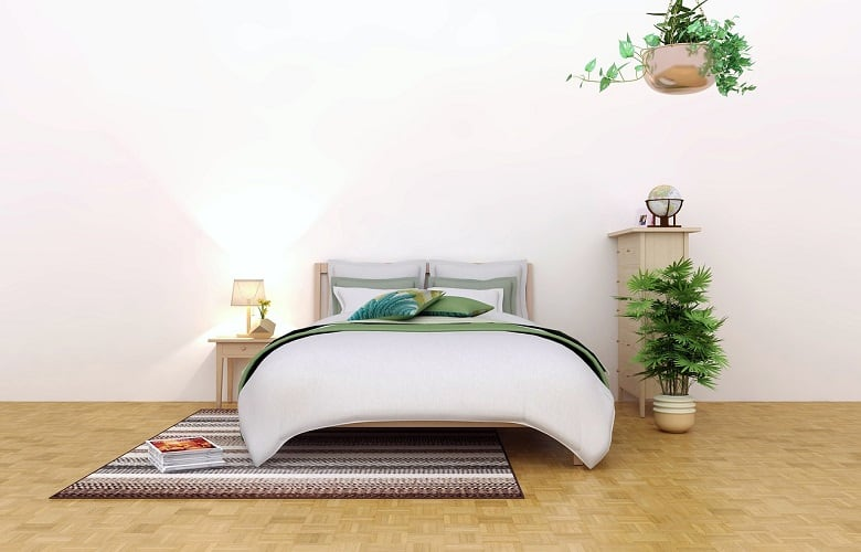 How to keep Bedframe from Rolling on Wood Floor